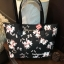 Victoria's Secret Flower Print Shoulder Tote Bag thumbnail 2