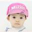 HT326••หมวกเด็ก•• / หมวกแก็ป Music (สีชมพู) thumbnail 1