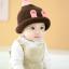 หมวกไหมพรมสำหรับเด็ก หมวกกันหนาวเด็กเล็ก หมวกบีนนี่ สีทูโทน (มี 5 สี) thumbnail 15