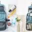 กระเป๋าใส่อุปกรณ์ห้องน้ำ ใส่อุปกรณ์อาบน้ำ แขวนได้ ขนาดกะทัดรัด แข็งแรง ทนทาน thumbnail 7