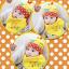 AP135••เซตหมวก+ผ้ากันเปื้อน•• / [สีเหลือง] กระรอก thumbnail 2