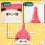 AP143••เซตหมวก+ผ้ากันเปื้อน•• / [สีเหลือง] แพนด้า thumbnail 8