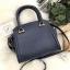 LYN Madison Bag สีน้ำเงิน กระเป๋าถือหรือสะพายทรงสวย รุ่นใหม่ล่าสุด วัสดุหนัง Saffiano thumbnail 10