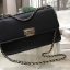 CHARLES & KEITH QUILTED CHAIN SHOULDER BAG หนังคาเวียร์ thumbnail 4