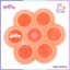 MumMom Silicone Food Stock Tray ถาดซิลิโคนสต๊อกอาหารสำหรับลูกน้อย สีส้ม thumbnail 1