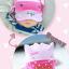 HT184••หมวกเด็ก•• / [สีชมพูอ่อน] Bunny thumbnail 3