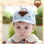 หมวกแก๊ป หมวกเด็กแบบมีปีกด้านหน้า ลายหมีสกรีนสามเหลี่ยม (มี 4 สี) thumbnail 14