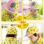 AP078••เซตหมวก+ผ้ากันเปื้อน•• / [สีเหลือง] Bear thumbnail 4