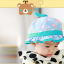 HT480••หมวกเด็ก•• / หมวกปีกกว้าง-กระต่าย (สีฟ้า) thumbnail 3