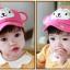 หมวกแก๊ป หมวกเด็กแบบมีปีกด้านหน้า ลายลิงน้อย (มี 3 สี) thumbnail 16