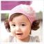 ผ้าคาดผมเด็กมีปอยผม สำหรับเด็ก 6เดือน - 3ขวบ แพ็ค 3 ชิ้น คละสี thumbnail 2