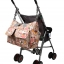 Ecosusi กระเป๋าสัมภาระคุณแม่ กระเป๋าใส่ผ้าอ้อม แขวนรถเข็นเด็กได้ หิ้ว หรือสะพายไหล่ได้ (Pink) thumbnail 16