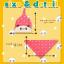 AP143••เซตหมวก+ผ้ากันเปื้อน•• / [สีเหลือง] แพนด้า thumbnail 7