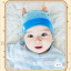 หมวกบีนนี่ หมวกเด็กสวมแบบแนบศีรษะ ลายปีศาจน้อย (มี 5 สี) thumbnail 12