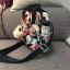 Kipling Mini Backpack รุ่น -k12688 small flower printed 3 in 1 thumbnail 10