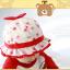 HT479••หมวกเด็ก•• / หมวกปีกกว้าง-กระต่าย (สีแดง) thumbnail 3