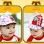 HT371••หมวกเด็ก•• / หมวกแก็ป STAR (สีชมพู) thumbnail 2
