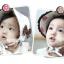 HT098••หมวกเด็ก•• / หมวกถังกุหลาบสีครีม thumbnail 5