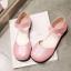 รองเท้าไซส์ใหญ่ 43-45 รองเท้าแตะปิดหัว ปิดส้น มีสายรัดข้อ สีชมพู รุ่น KR0646 thumbnail 5