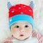 หมวกบีนนี่ หมวกเด็กสวมแบบแนบศีรษะ ลายปีศาจน้อย (มี 5 สี) thumbnail 7