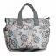 Ecosusi กระเป๋าสัมภาระคุณแม่ กระเป๋าใส่ผ้าอ้อม แขวนรถเข็นเด็กได้ หิ้ว หรือสะพายไหล่ได้ (Grey) thumbnail 5