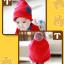 HT258••หมวกเด็ก•• / Star [สีแดง] thumbnail 2