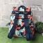 Kipling City Pack S Go Twist ลาย Stripe Quilt K1801454Z thumbnail 3