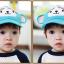 หมวกแก๊ป หมวกเด็กแบบมีปีกด้านหน้า ลายลิงน้อย (มี 3 สี) thumbnail 11