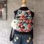 Kipling City Pack S Go Twist ลาย Stripe Quilt K1801454Z thumbnail 6
