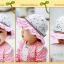 HT488••หมวกเด็ก•• / หมวกปีกกว้าง-Rabbit (สีชมพู) thumbnail 5
