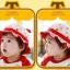 HT479••หมวกเด็ก•• / หมวกปีกกว้าง-กระต่าย (สีแดง) thumbnail 2