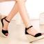 รองเท้าส้นเตารีดไซส์ใหญ่ 40 Scarlette Espadrilles รุ่น KR0051 thumbnail 8