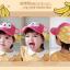 หมวกแก๊ป หมวกเด็กแบบมีปีกด้านหน้า ลายลิงน้อย (มี 3 สี) thumbnail 14