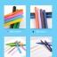 [มีตำหนิ] สีเทียนแท่งสามเหลี่ยม △ ปลอดสารพิษ Crayonlab เซ็ต 12 สี thumbnail 6