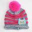 หมวกไหมพรมสำหรับเด็ก หมวกกันหนาวเด็กเล็ก หมวกบีนนี่ลายนกฮูก (มี 5 สี) thumbnail 16