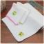 ผ้าเช็ดหน้าสีขาวปักลาย กบ/ลูกเจี๊ยบ thumbnail 5