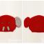 หมวกไหมพรมถักมือ หมวกบีนนี่สำหรับเด็ก ลายช้างน้อย (มี 5 สี) thumbnail 7