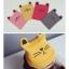 หมวกกันหนาวเด็กเล็ก รูปแมว เท่ๆ สีแดง/เทา/เหลือง thumbnail 8