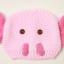 หมวกไหมพรมถักมือ หมวกบีนนี่สำหรับเด็ก ลายช้างน้อย (มี 5 สี) thumbnail 12