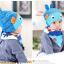 AP127••เซตหมวก+ผ้ากันเปื้อน•• / [สีฟ้า+น้ำเงิน] ปลา thumbnail 2