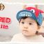 HT391••หมวกเด็ก•• / หมวกแก็ป LOVE CAT (สีแดง) thumbnail 2