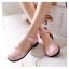 รองเท้าไซส์ใหญ่ 43-45 รองเท้าแตะปิดหัว ปิดส้น มีสายรัดข้อ สีชมพู รุ่น KR0646 thumbnail 1