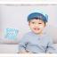 HT327••หมวกเด็ก•• / หมวกแก็ป Music (สีฟ้า) thumbnail 1
