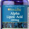 ต้านอนุมูลอิสระPuritan Pride Alpha Lipoic Acid 200 mg ขนาด 100 Capsule