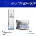 Jeunesse เซทคู่ LUMINESCE™ Cellular Rejuvenation Serum 15 ml. + LUMINESCE™ Advanced Night Repair 30 ml.