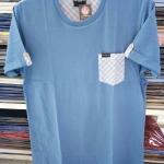 เสื้อยืดคอกลม สำหรับ ผู้ชายอ้วน 2XL 3XL 4XL รหัส NR60042