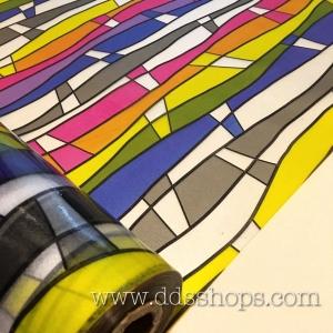"PVC สูญญากาศติดกระจก ""Modern Color"" หน้ากว้าง 90 cm ราคาต่อเมตร 290 บาท (ตัดความยาวต่อเนื่อง)"