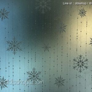 """PVC สูญญากาศติดกระจก """"Snowflake"""" หน้ากว้าง 90 cm ราคาต่อเมตร 270 บาท"""