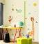 """สติ๊กเกอร์ติดผนังที่วัดส่วนสูงสำหรับเด็ก """"ที่วัดส่วนสูง Growth up Giraffe"""" สเกลเริ่มต้น 50cm ถึง 170cm thumbnail 2"""