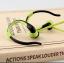 หูฟัง MP3 player สำหรับออกกำลังกาย สีเขียว